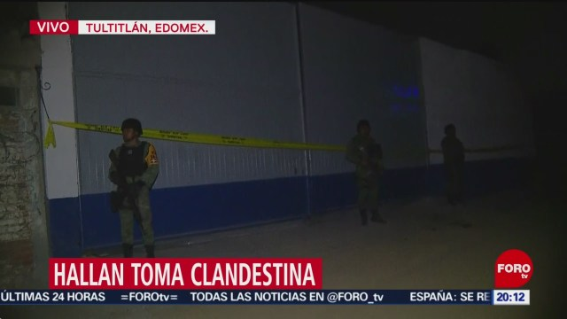 Foto: Toma Clandestina Bodega Tultitlán Edomex Hoy 14 Enero 2020