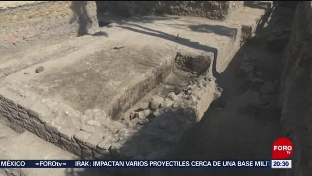 Foto: Hallan Vestigios Prehispánicos Azcapotzalco 14 Enero 2020