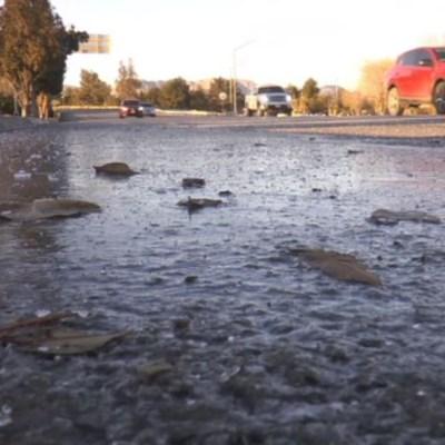 Heladas por frente frío 30 continúan en Chihuahua