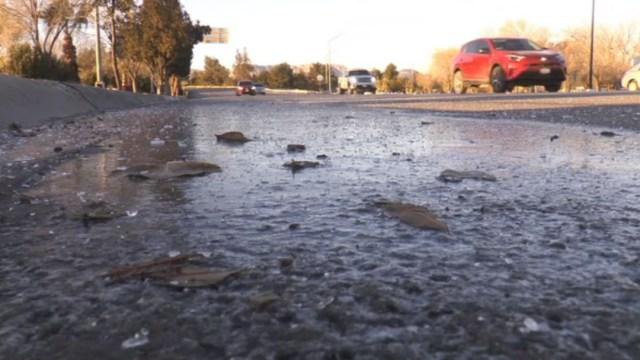 FOTO: Heladas por frente frío 30 continúan en Chihuahua, el 11 de enero de 2020