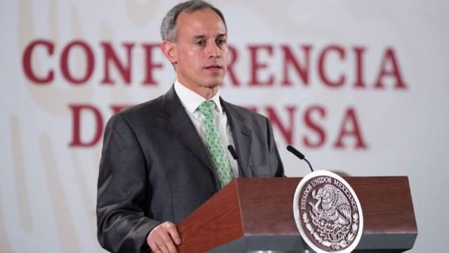 Foto: El subsecretario de Salud, Hugo López-Gatell, ofrece una conferencia de prensa 24 enero 2020