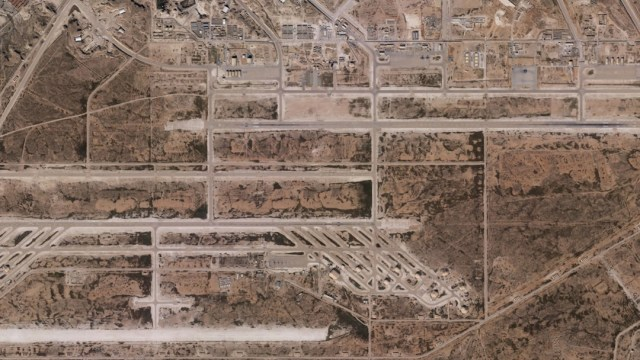 Foto: Las imágenes muestran los daños a edificios de la base aérea en Irak, que alberga a tropas de EE.UU. 8 enero2019