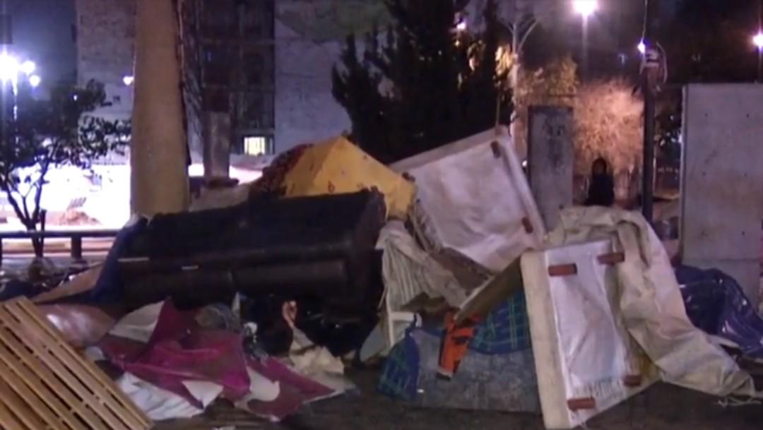 Foto: Implementan operativo contra el frío para personas en situación de calle