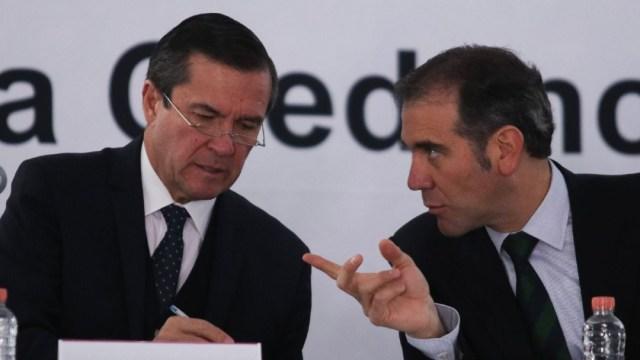 Imagen: Jesús George Zamora, titular del Órgano Interno de Control del Instituto, consideró que el acuerdo para el tabulador del personal del INE en 2020 pudo haber sido violatorio de la ley