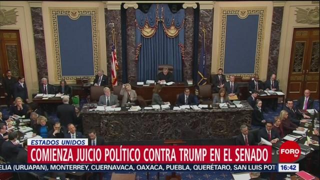 FOTO: inicia juicio politico contra trump
