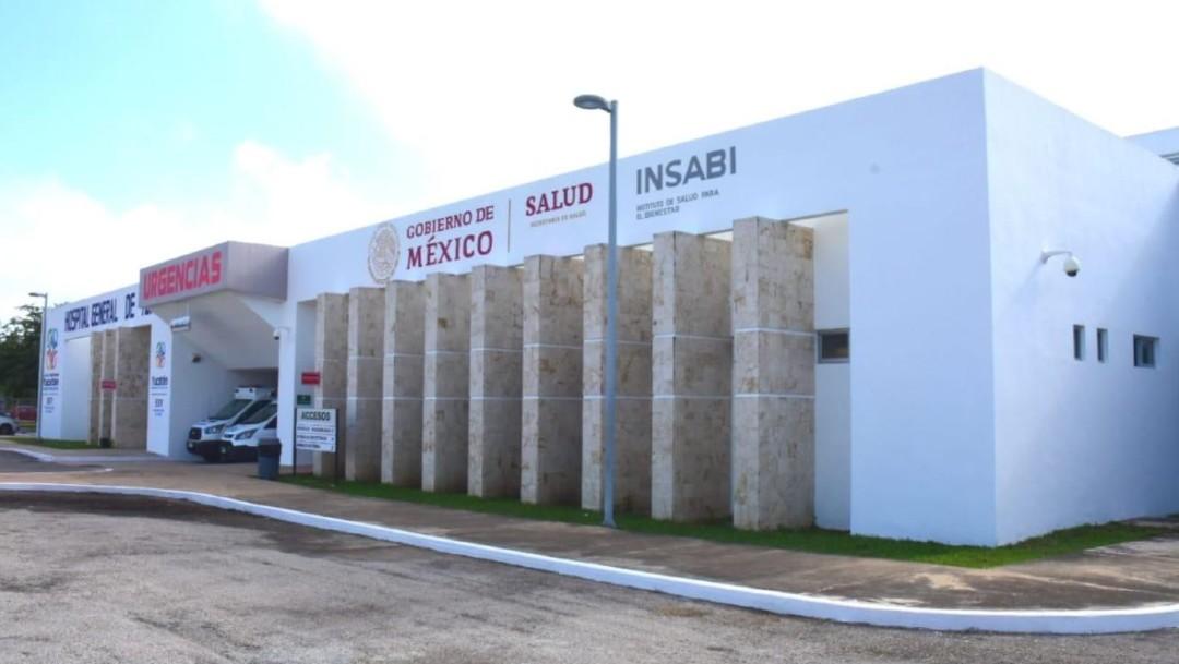 Foto: El primer Hospital General Insabi en Tekax, Yucatán, 16 enero 2020