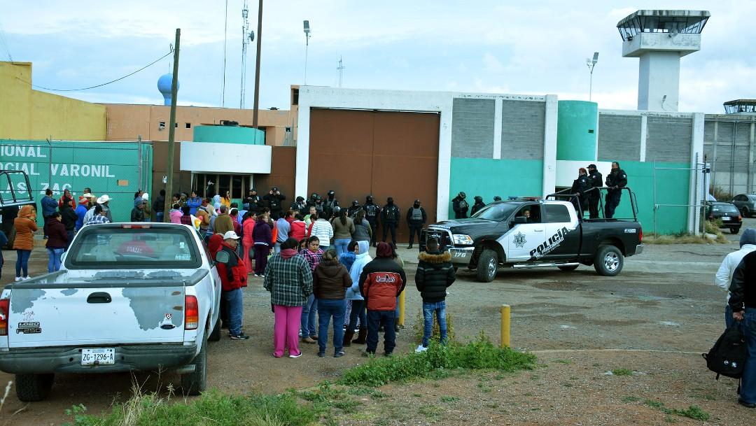 Inspeccionan penal de Cieneguillas, Zacatecas, tras riña
