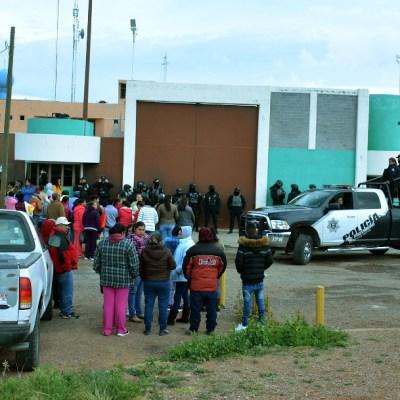 Inspeccionan penal de Cieneguillas, Zacatecas, tras riña que dejó 16 muertos
