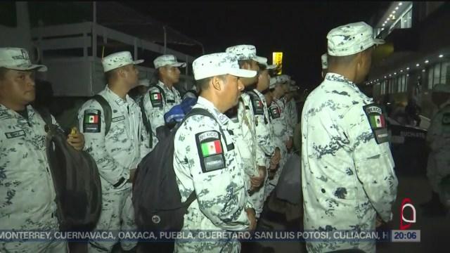 Foto: Intensifican Seguridad Frontera Sur México Migrantes 17 Enero 2020