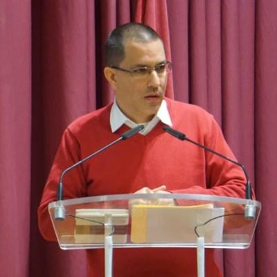 Jorge Arreaza, ministro del Poder Popular para Relaciones Exteriores de Venezuela.