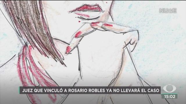 FOTO: juez delgadillo padierna deja caso rosario robles