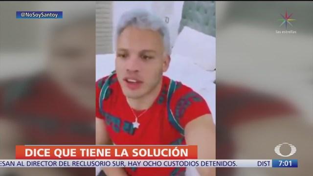 julio cesar chavez jr propone autorizar el uso de billetes falsos