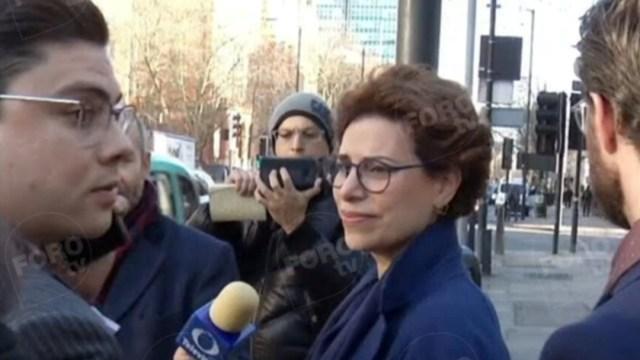 FOTO Corte británica fija fecha para audiencia de Karime Macías (FOROtv)