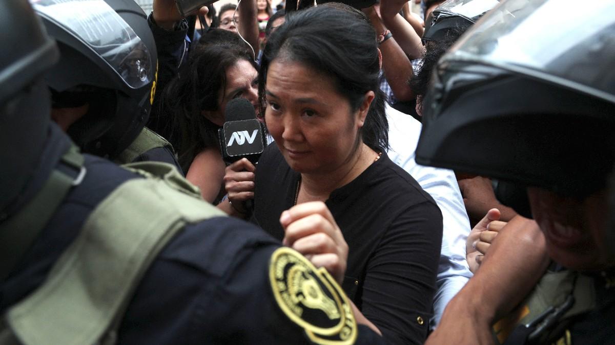 Keiko Fujimori vuelve a la cárcel por caso Odebrecht