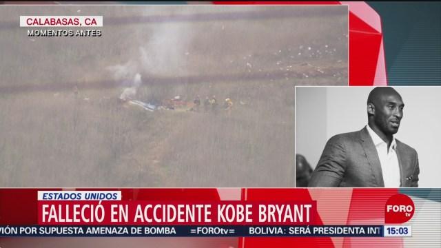 FOTO: 26 enero 2020, kobe bryant murio junto a su hija en accidente