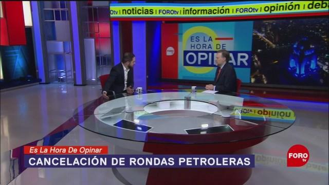 Foto: Rondas Petroleras Canceladas Gobierno Amlo 22 Enero 2020