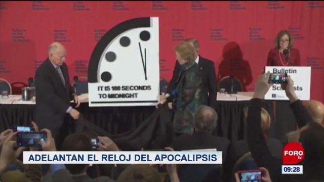 lamesadelsaber adelantan el reloj del apocalipsis
