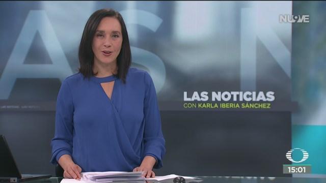 FOTO: las noticias con karla iberia programa del 16 de enero del