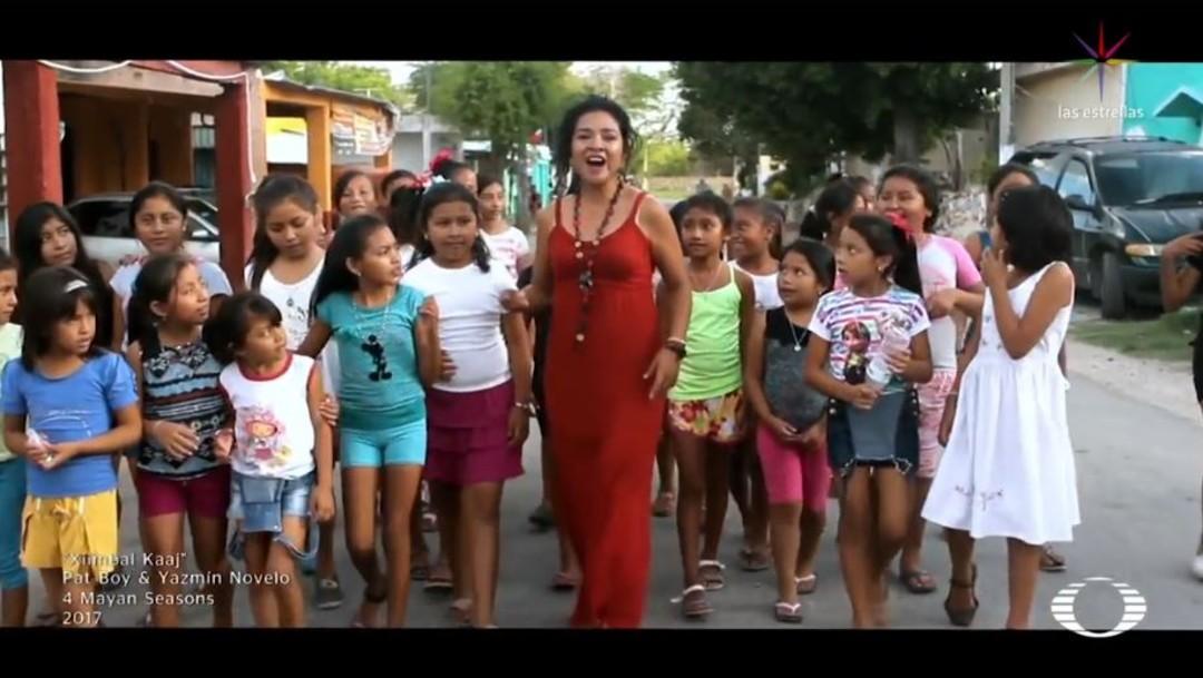 Foto: 'Juumil Moots, que significa 'Sonido de raíz', es una banda que busca impulsar la lengua en diversos ámbitos y con ello preservar las tradiciones y costumbres de los pueblos mayas