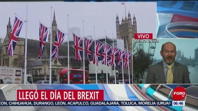 llego el dia del brexit para reino unido