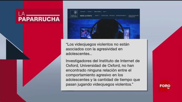 Foto: Videojuegos Violentos Relación Violencia Noticias Falsas 13 Enero 2020