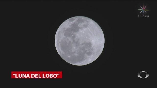 Foto: Luna Del Lobo Primera Luna Llena 2020 10 Enero 2020