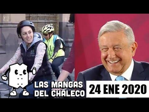 Las Mangas del Chaleco: AMLO y los memes, el paseo en bici de Sheinbaum y desaparecen las CURP