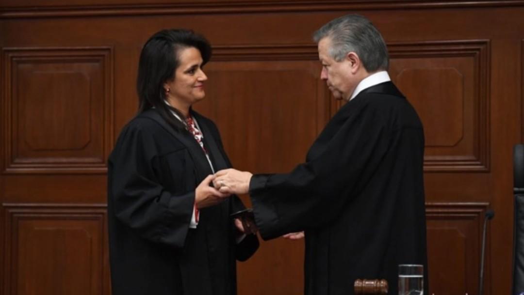 Foto: Margarita Ríos Farjat asume como ministra de la SCJN