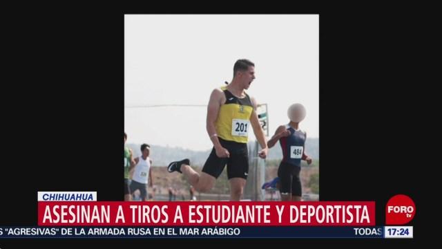 FOTO: medallista mexicano es asesinado en ciudad juarez chihuahua