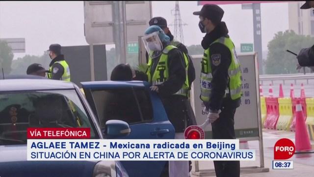 mexicana radicada en china narra situacion por coronavirus