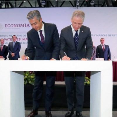 México y Estados Unidos firman histórico acuerdo de patentes