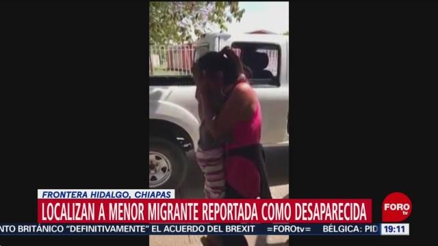 Foto: Niña Migrante Extraviada Frontera México 22 Enero 2020