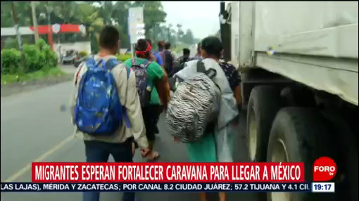 Foto: Migrantes Frontera México Guatemala 17 Enero 2020