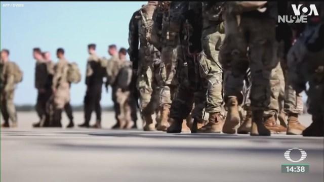 FOTO: militares estadounidenses desplegados en medio oriente