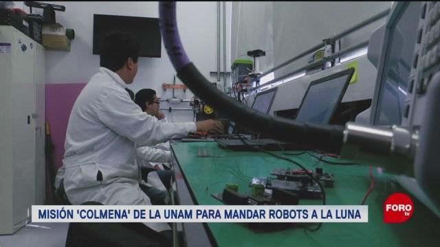 FOTO: 11 enero 2020, mision colmena de la unam para enviar robots a la luna