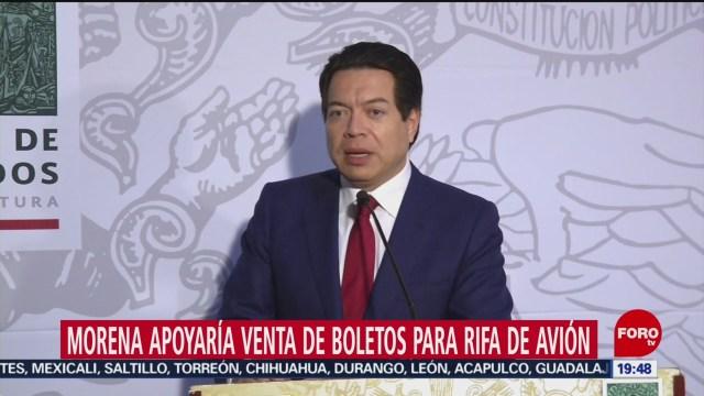 Foto: Venta Boletos Rifa Avión Presidencial Morena Apoyaría 28 Enero 2020