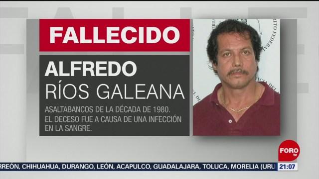 Foto: Muere Alfredo Ríos Galeana Enemigo Número 1 México 15 Enero 2020