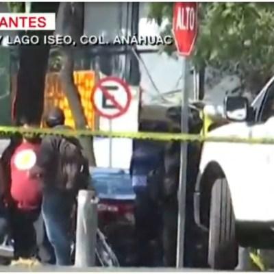 Foto: Muere ciclista tras ser atropellado por conductora en la CDMX, 25 de enero de 2020 (Foro TV)