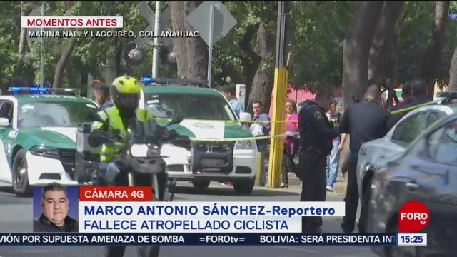 FOTO: 25 enero 2020, muere ciclista de la tercera edad tras ser atropellado