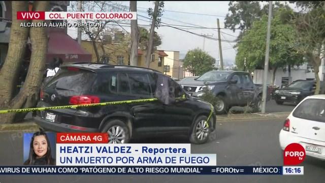 FOTO: muere un hombre por presunto robo en la alcaldia alvaro obregon