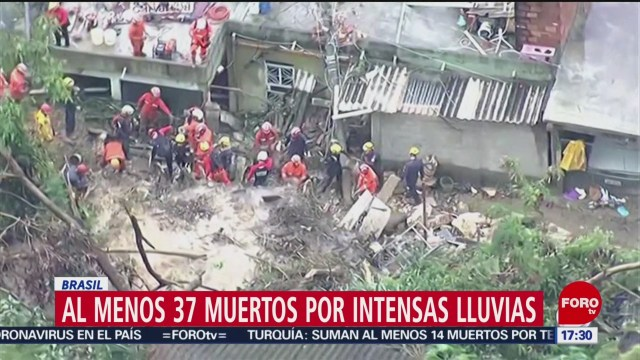 FOTO: 26 enero 2020, FOROtv mueren 53 personas tras intensas lluvias en brasil