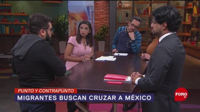 Foto: Migrantes Caravana Entrar México Hoy 23 Enero 2020
