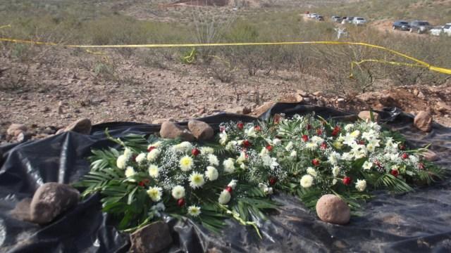Foto: Recuerdan a víctimas de masacre de integrantes de la familia LeBarón, 12 de enero de 2020 (NACHO RUIZ /CUARTOSCURO.COM)