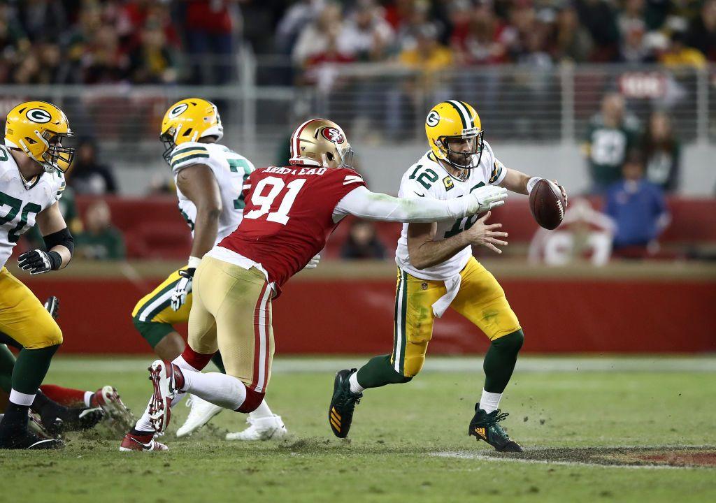 24/11/2019. La Final de la Conferencia Nacional será espectacular. Esta es la hora del juego entre Packers vs San Francisco