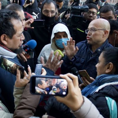 Padres de niños con cáncer son recibidos en Palacio Nacional