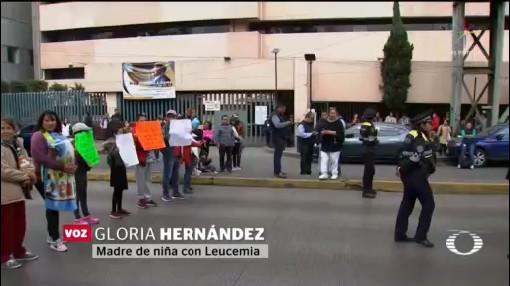 Foto: Padres Niños Cáncer Nuevas Protestas Falta Medicamento AMLO 24 Enero 2020