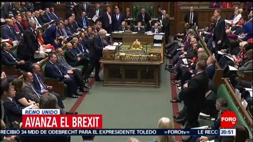Foto: Parlamento Británico Acuerdo Retirada Unión Europea 22 Enero 2020