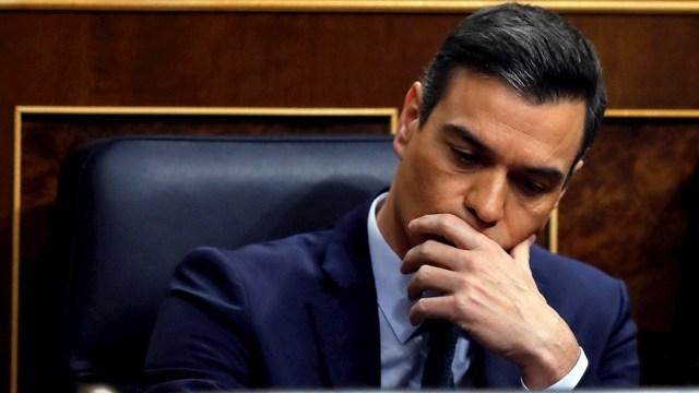 Foto: El candidato a la presidencia de España, Pedro Sánchez, durante la segunda jornada del debate de su investidura, 5 enero 2019