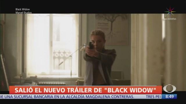 presentan avance de la pelicula black widow