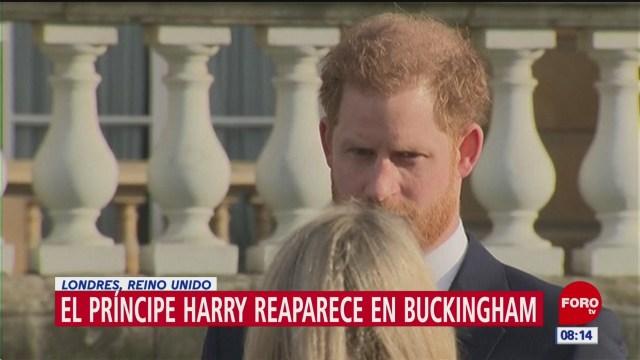 principe harry reaparece en publico